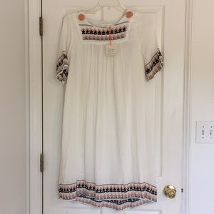 Adorable Flowy Embroidered Dress